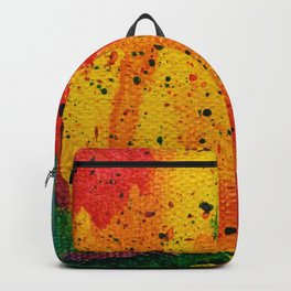 Rainbow Abstract #17 Backpack