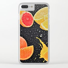 Delicious Juicy Fruit Clear iPhone Case