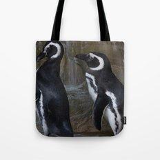 Magellanic Penguins Tote Bag