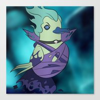 dota Canvas Prints featuring DotA 2: Death Prophet (ghostly background) by Birbles