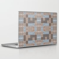 craftberrybush Laptop & iPad Skins featuring Wood print VI by Magdalena Hristova