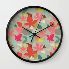spring and fall Wall Clock