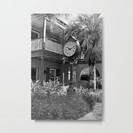 The Courtyard in Saint Augustine Metal Print