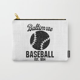 Baltimore Baseball Baseball Bat USA Carry-All Pouch
