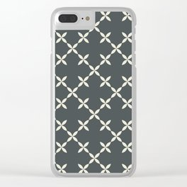 Cafeteria Clear iPhone Case