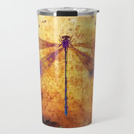 Dragonfly in Amber Travel Mug