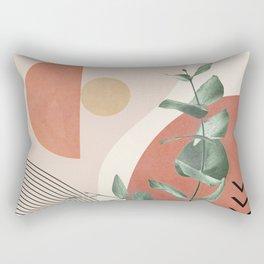 Nature Geometry IV Rectangular Pillow