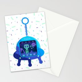 UFOtchi Stationery Cards