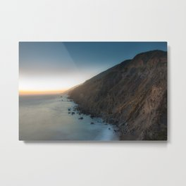 Big Sur Sunset Metal Print
