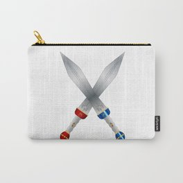 Two Roman Swords Carry-All Pouch
