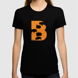 B is for Bison - Animal Alphabet Series T-shirt