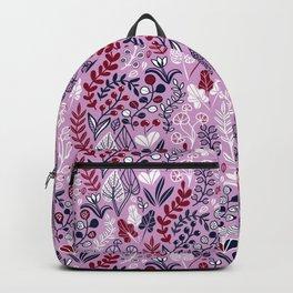 Floral meadow Backpack
