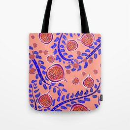 blue fig Tote Bag