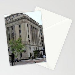 Providence, Rhode Island Masonic Temple Circa 1929 by Jeanpaul Ferro Stationery Cards