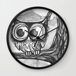Hiboux2 Wall Clock