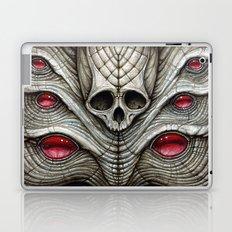 spider skull Laptop & iPad Skin