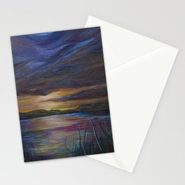 out of darkness comes light Stationery Cards