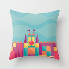 It's a small world after all | Disneyland Inspired Throw Pillow