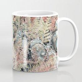 Colored ferns. Coffee Mug