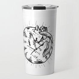Tabby Nap Travel Mug