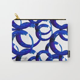 Enso Of Zen No. 21 by Kathy Morton Stanion Carry-All Pouch