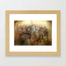 Dreamy People Framed Art Print