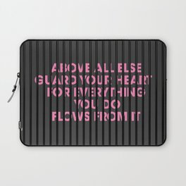 Above All Else Laptop Sleeve