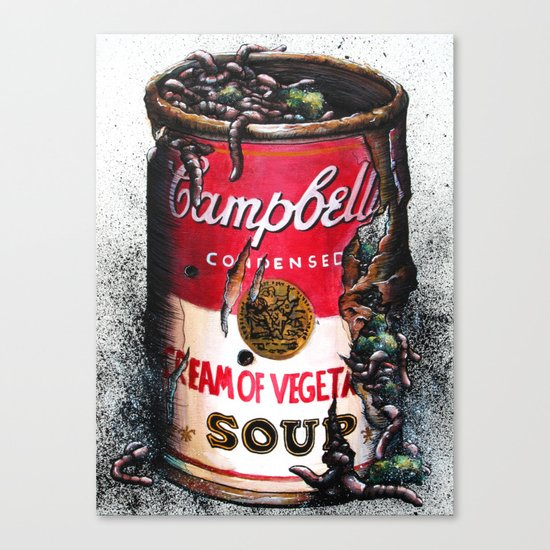 Cream of Vegetable Canvas Print