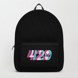 420 | Smoke Weed Cannabis Pot Gift Ideas Backpack