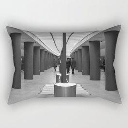 Tube Station Brandenburg Gate in Berlin Rectangular Pillow