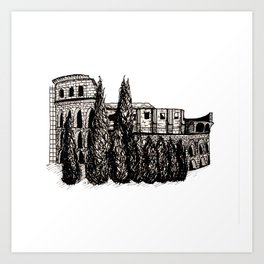 Coloseum. Art Print