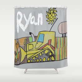 Spreading the LandFill Shower Curtain