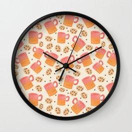 Coffee and Cookies Wall Clock
