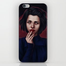 Devil town iPhone Skin