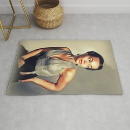 Eartha Kitt, Hollywood Legend Rug