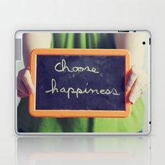 Choose Happiness Laptop & iPad Skin