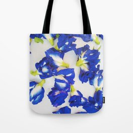 Pea Flower Tote Bag