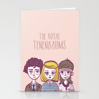 the royal tenenbaums Stationery Cards featuring Tenenbaums by Pilotinta