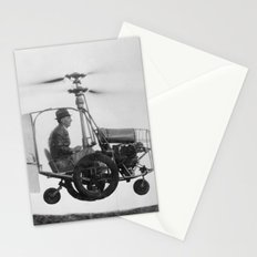 Gyrocopter Stationery Cards