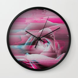 Rosa Rosae Wall Clock
