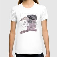 headdress T-shirts featuring Headdress by Avedon Arcade