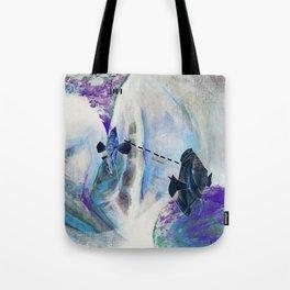 Fishie Speak Tote Bag