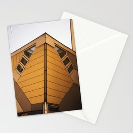 Cube houses Stationery Cards