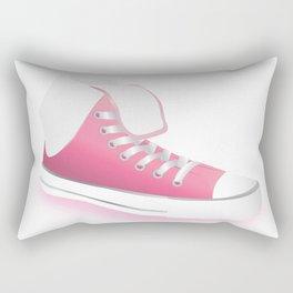 Pink Shoes Rectangular Pillow