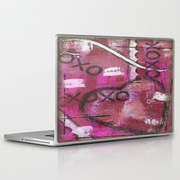 xoxo Laptop & iPad Skins featuring XOXO by Kimberly McGuiness