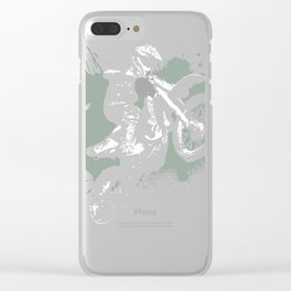 Motocross Bike designs, BMX product Clear iPhone Case