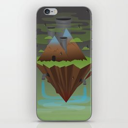Save the Planet iPhone Skin