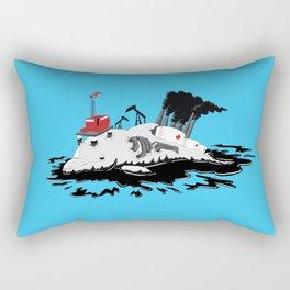 Offshore Dolphin Drilling Rectangular Pillow