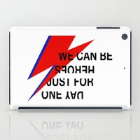 heroes iPad Cases featuring Heroes by Skorretto