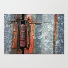 Hinge and Rust Wave Canvas Print